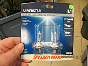 Headlight Bulb-SilverStar Blister Pack Twin H7 (H)