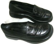 Dansko Professional Black Leather Nurse Clogs Shoes Eu 39 Women's ~US Size 8.5-9