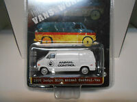 DODGE B100 VAN 1976 ANIMAL CONTROL GREENLIGHT 1:64