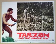 Lobby Card~ TARZAN AND THE JUNGLE BOY ~Mike Henry~Rafer Johnson~Steve Bond ~CS