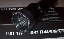 LED Flashlight Tourch Police Self-defense Electric Shock