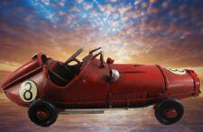 Auto Antik Modell Eisen Blech Spielzeug Weihnachtsgeschenk Rennwagen Oldtimer