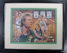 Larry Bird SIGNED 1993 Upper Deck The Championship Years 8x10 Litho by Danny Day