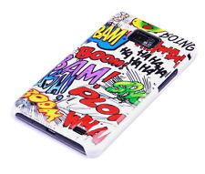 Funda para Samsung Galaxy s2 + Plus i9105p bolsa case protectora móvil cómic Boom