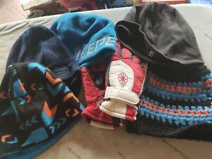 Winterpaket für Jungen - Handschuhe + Mützen