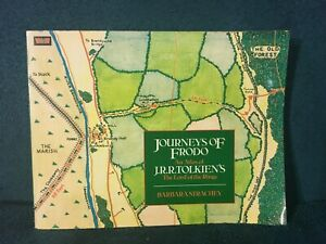 Journeys of Frodo: An Atlas of JRR Tolkien's The Lord of the Rings by B Strachey