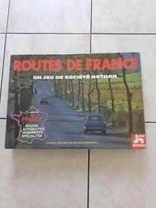 Routes de France jeux société NATHAN  1976 COMPLET Excellent ETAT
