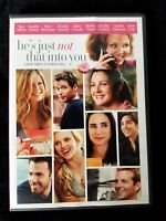 Video DVD - He's just Not That Into You - LIKE NEW (LN) - WORLDWIDE SHIPPING