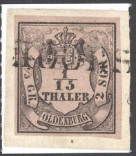 "Oldenburg Mi. Nr. 3 II gest. L1 ""HOOKSIEL"" LUXUS Befund Stegmüller BPP"