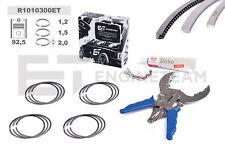 4x anelli pistone kit di riparazione STD vw audi skoda seat 1,8 TSI TFSI BZB