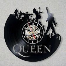 12''Queen Vinyl Record Wall Clock Home Decor Wall Art 3D Hanging Wall Watch Gift