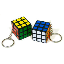 Mini Size Rubix Cube Puzzle Mind Game Toy Classic Cube Gift 3cm x 3cm Key Ring
