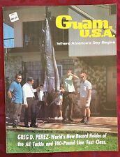 Vintage Guam USA Journal # 2 Greg Perez Marlin Fishing 180 LB Test Record Holder