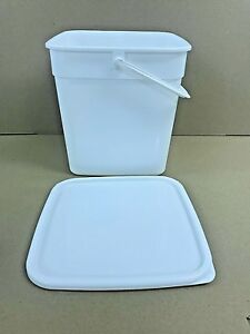 Plastic Storage Containers 500 x 10ltr Square