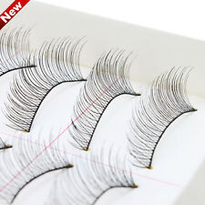 Hot 10 Pairs Makeup Handmade Natural Long False Eyelashes Eye Lashes Sparse 09 b