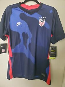 Nike Women's | 2020-21 USA 4-Star Away Jersey Dri-FIT Size Large | CD0907-475