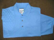 Xl Rh Trap/Skeet Pad Carolina Blue 50/50 Dryblend Polo Shooting Shirt/Gildan
