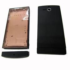 Fascia Housing Back Battery Cover Black For S. Eric  Xperia U ST25 ST25i Black