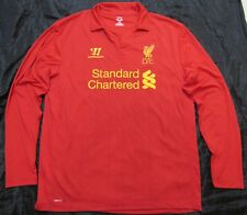 04d6cf2e6 The Reds FC LIVERPOOL home long sleeve shirt jersey Warrior 2012-13 men  SIZE XL