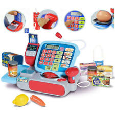 Kids Supermarket Cash Register Pretend Toy Mini Shopping Checkout Juguetes Gift