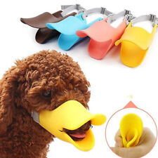 Dog Anti Bite Duck Mouth Shape Dog Mouth Cover Biteproof Pet Muzzle Healthy#