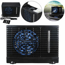 12V Portable Home Water Ice Evaporative Air Conditioner Car Cooler Cooling Fan