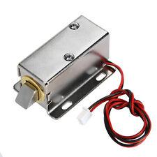12V Electric Locksmith Latch Drawer Deadbolt Cabinet Door Desk Window Box Lock