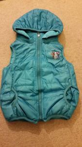 Frozen Girls Vests Fleece Lined Coats (18-24 Months)