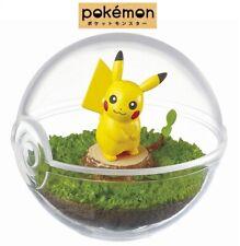 Re-Ment Pokemon Terrarium Collection Vol. 1 Poke Ball Case Figure #1 Pikachu New