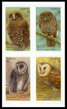 2016 Owls : Guardians of the Night - Block of 4 Self Adhesive Stamps - MUH