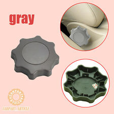 Gray Seat Adjuster Recline Setting Knob For VW Golf Jetta Bora Passat Audi