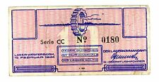 Netherlands -Lager westerbork ... NE-470 ... 10 Cents ... 1944... *XF*