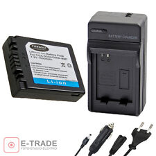 Battery + CHARGER main for PANASONIC DMW-BM7 / CGR-S002E / CGA-S002A / CGA-S002E