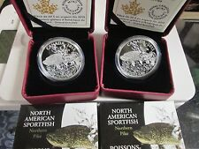 2015 Canada Canadian .9999 fine  Silver  Northern Pike (4)