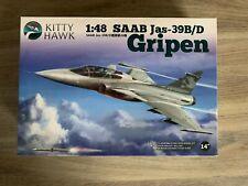 Kitty Hawk SAAB Jas-39B/D Gripen 1/48