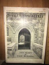 YALE ALUMNI WEEKLY Magazine July, 1928 Issue.