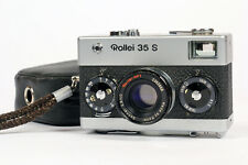 Superb Rollei 35 S Camera 40mm f2.8 Sonnar HFT Lens