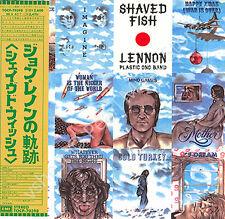 JOHN LENNON SHAVED FISH CD MINI LP OBI Beatles Quarrymen Plastic Ono Band new