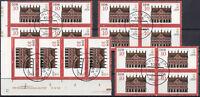 DDR 5 Plattenfehler aus 2869 I, F 22, F 40, F 43 und F 44 gestempelt (P-1354)