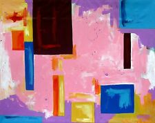 LARGE CONTEMPORARY ORIGINAL MODERN ABSTRACT CANVAS PAINTING ART Dan Byl 4x5ft