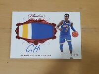 2018 Flawless Aaron Holiday RC AUTO SSP /20 True RPA 3 Color Patch Autograph