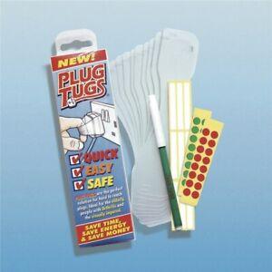 Plug Tugs Plug Mobility Arthritis Help Pullers - Pack of 10