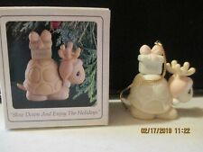 Precious Moments Ornament Slow Down and Enjoy The Holidays Dated 1993 520489