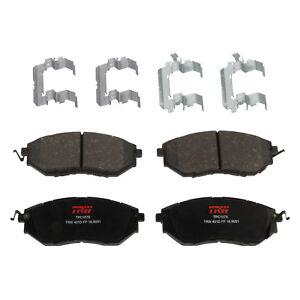Disc Brake Pad Set-Premium Disc Brake Pad Front TRW TPC1078