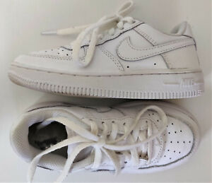 Nike Air Force 1 Low Top All White Shoes Athletic Sneaker Unisex 11C 314193-117