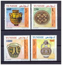 2012-Tunisia-Tunisian traditional pottery items- 4 stamps complete set MNH**