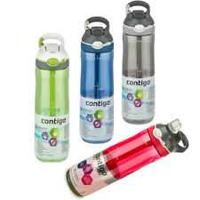 3 x Contigo Ashland Autospout Sports Water Bottles 709ml package deal