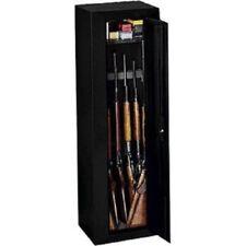 Security Gun Cabinet Firearm Safe 10 Gun Rifle Storage Locker Shotgun Key Coded