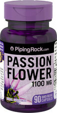 Piping Rock Passion Flower 1100 mg 90 Capsules