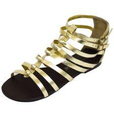 Sandali e scarpe gladiatori senza marca sintetico per il mare da donna